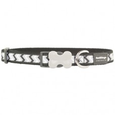 Ziggy Collar - Black (Reflective)