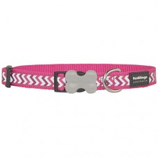 Ziggy Collar - Hot Pink (Reflective)