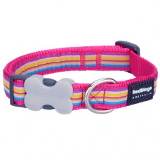 Stripes Collar - Hot Pink