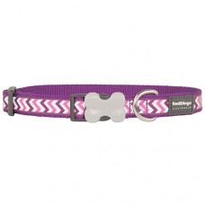 Ziggy Collar - Purple (Reflective)