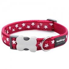 Extra Small Collar - Red Stars