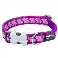 Extra Small Collar - Ziggy Purple (reflective)