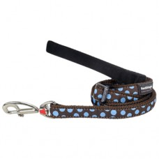 Spots Lead - Blue/Brown